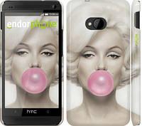 """Чехол на HTC One M7 Мэрлин Монро """"1833c-36"""""""