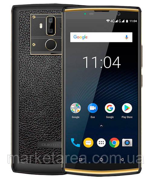 Смартфон оукител черный с хорошим аккумулятором большой емкости на 2 сим карты OUKITEL K7 Pro black 4/64 гб