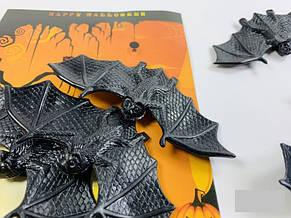 Летучая мышь аксессуар для Хэллоуина Halloween 3в1 (только упаковкой 12 штук), фото 3