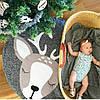 Одеяло коврик в детскую комнату Олененок, фото 2