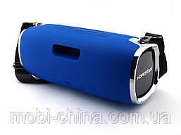 Hopestar A6 34W Boombox SuperBass, портативная колонка с MP3, синяя, фото 3