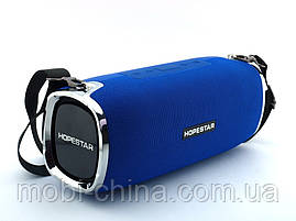 Hopestar A6 34W Boombox SuperBass, портативная колонка с MP3, синяя, фото 2
