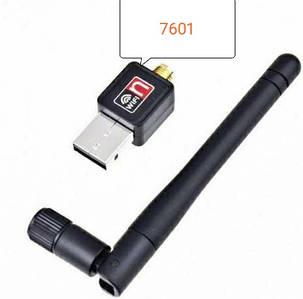 USB WIFI адаптер з антеною 2dbi Ralink MTK 7601 для T2 і ПК