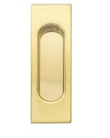 Ручка для раздвижных дверей Fimet 3663АC полированная латунь (Италия)