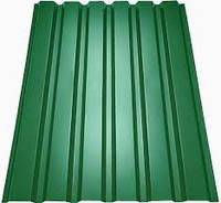 Профнастил зелёный