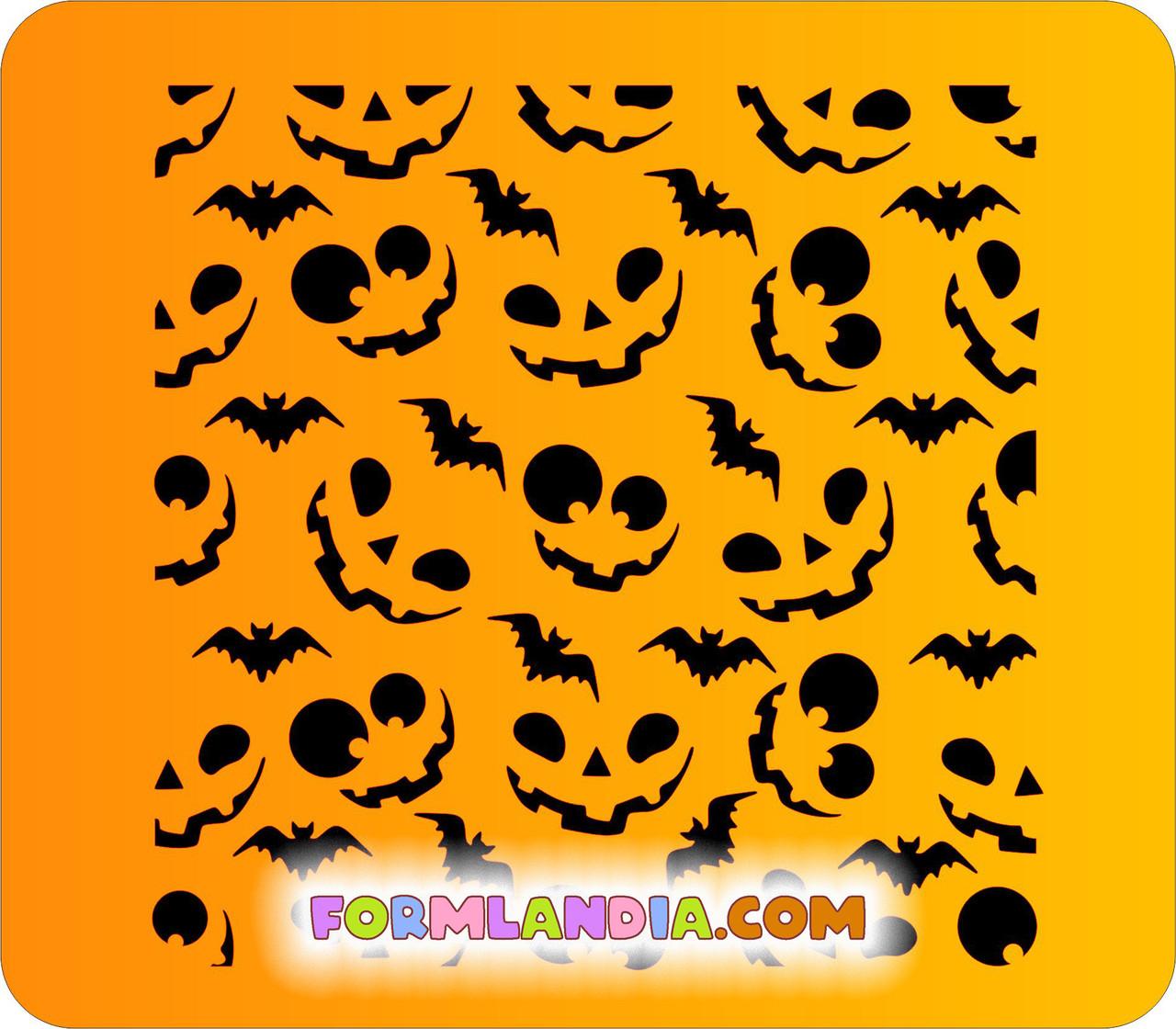 Трафарет для пряников Хэллоуин №5