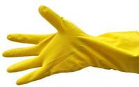 Перчатки хозяйственные латексные, фото 1