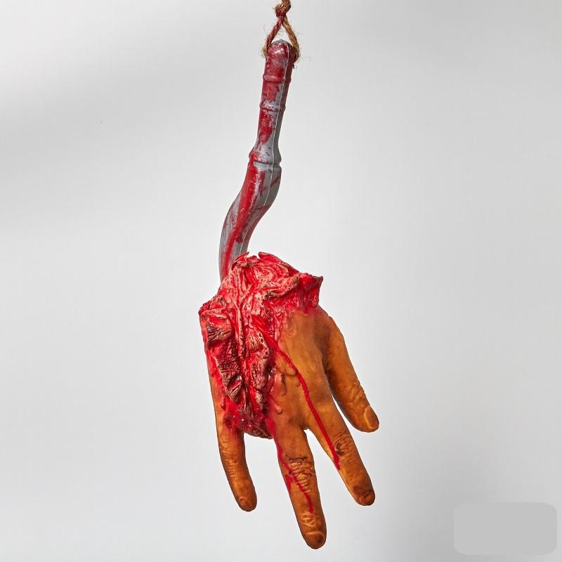 Муляж Рука на крюке Хэллоуин Halloween