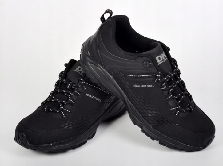 Демисезонные треккинговые мужские кроссовки , Dk Prince 19503 .технология SoftShell,( черный.р 41-49)
