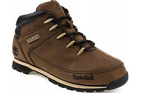 Стильные коричневые мужские ботинки TIMBERLAND EURO SPRINT, натуральная кожа. 40-46рр.