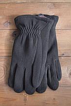 Мужские зимние стрейчевые перчатки + кролик 8191