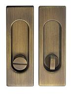 Ручка для раздвижных дверей Fimet 3663AR бронза (Италия)