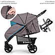 Детская коляска книжка подстаканник, чехол, лен ЦВЕТА РАЗНЫЕ, фото 2