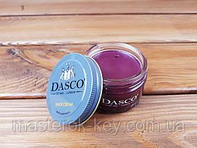 Крем для взуття DASCO Shoe Cream 50 мл колір бордовий (131)