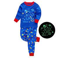 Пижама для мальчика Barbieliya ШАТЛ, рисунок светится в темноте (р.134,140)