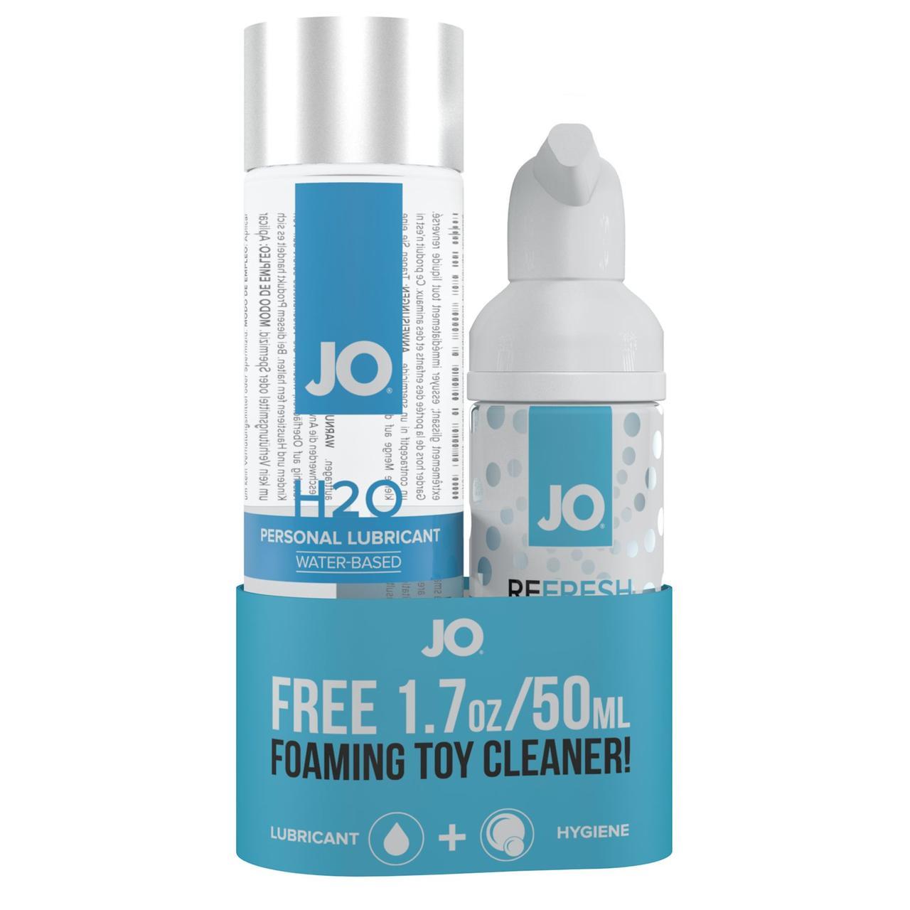 Подарочный набор System JO Limited Edition — лубрикант + очищающее средство
