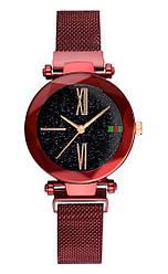 Женские наручные часы Starry Sky Watch (тех.пакет) Красный
