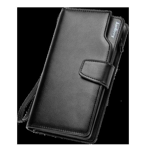 Мужской клатч портмоне Baellerry Business черный