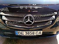 Хром накладки на решетку Mercedes Vito W447 2015-, фото 1