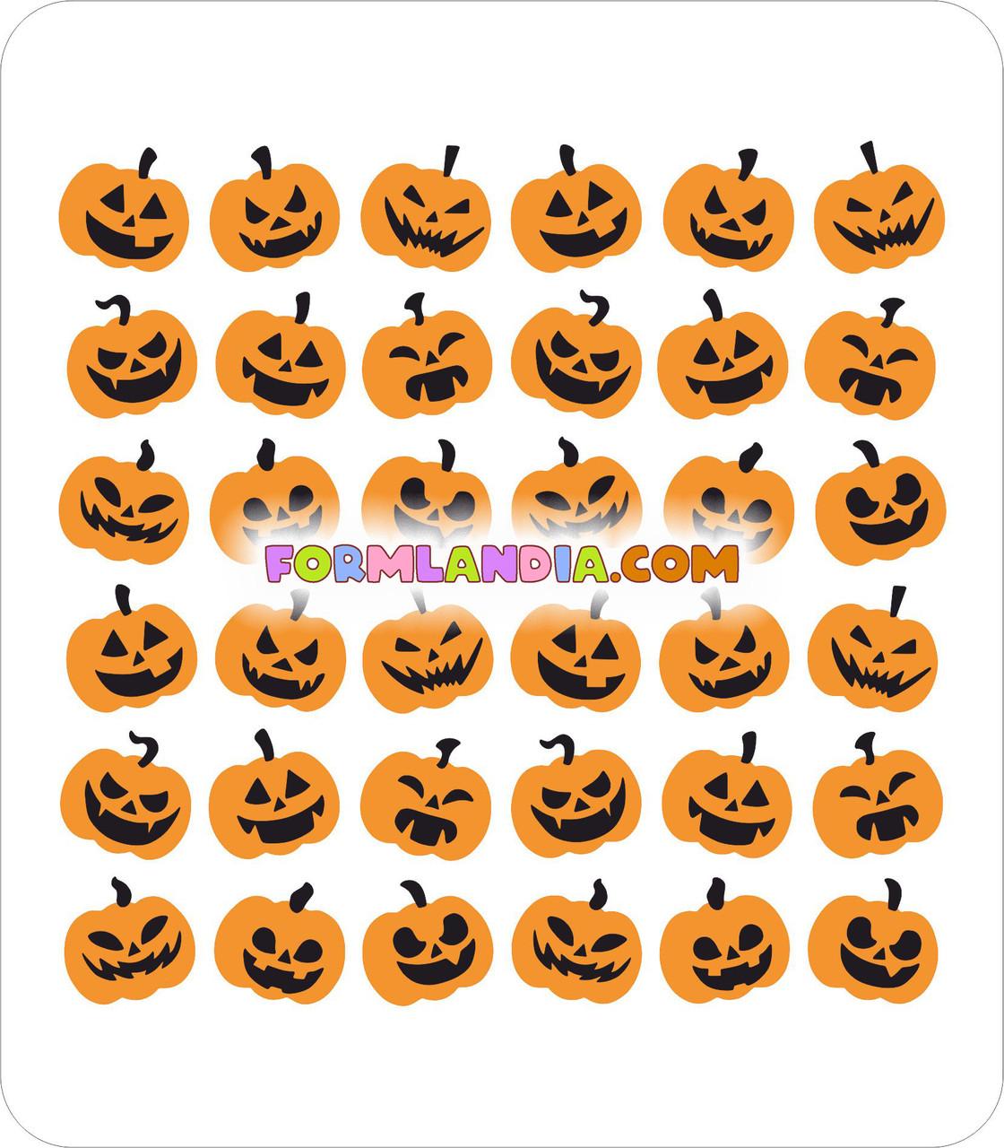 Набор Трафаретов для пряников Хэллоуин №18