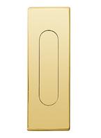 Ручка для раздвижных дверей Fimet 3663AS полированная латунь  (Италия)