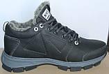 Ботинки зимние кожаные мужские от производителя модель БФБ55, фото 3