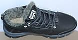 Ботинки зимние кожаные мужские от производителя модель БФБ55, фото 4