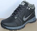 Ботинки зимние кожаные мужские от производителя модель БФБ55, фото 2