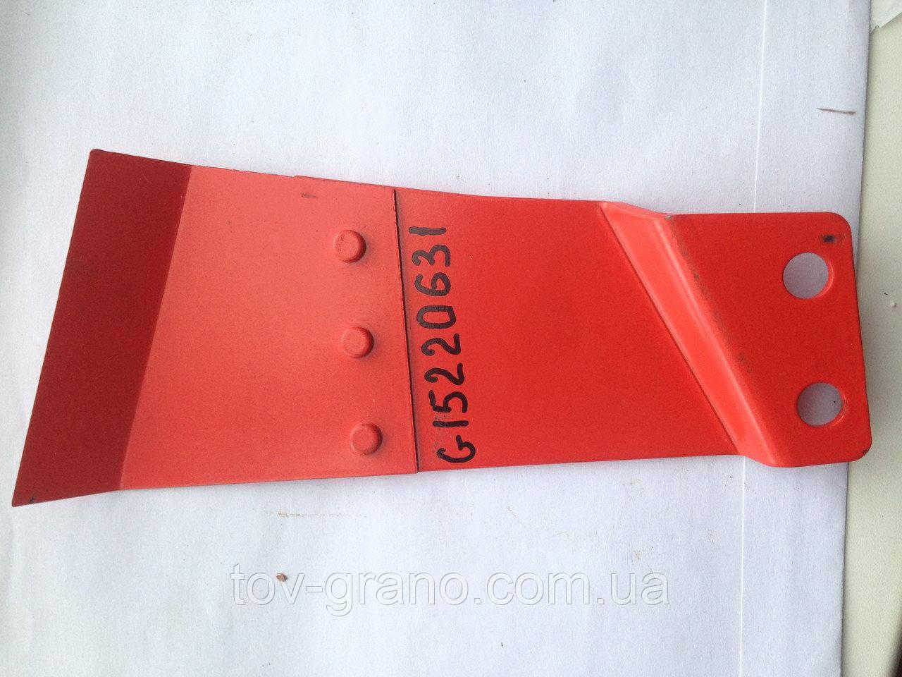 Чистик G15220631 внешний правый сеялки Gaspardo