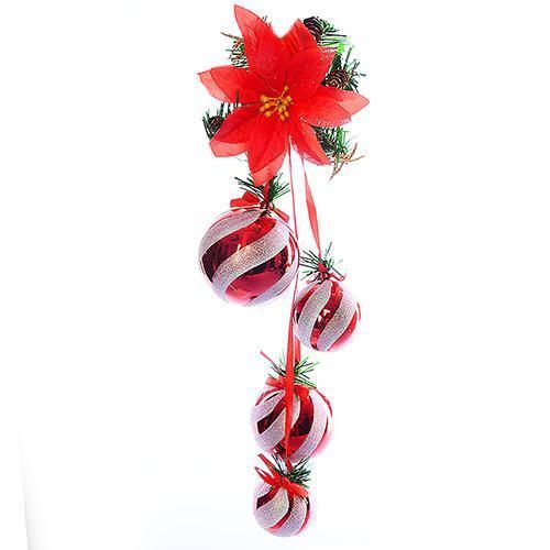 Декор новогодний подвесной 50см