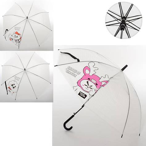 Зонтик детский трость MK 3650, фото 2
