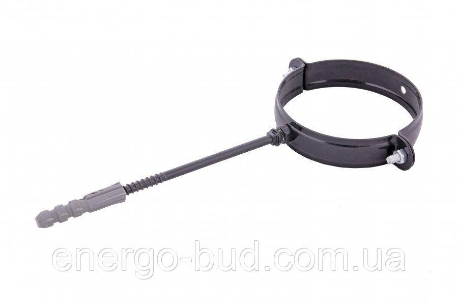Держак труби Profil метал. L100 130 графітовий