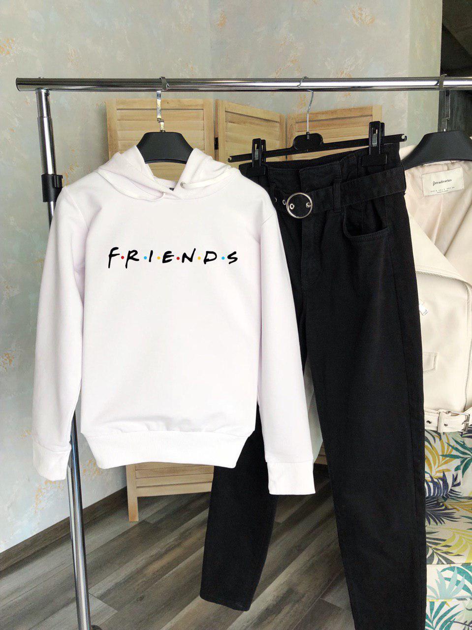 Женское худи белое Friends