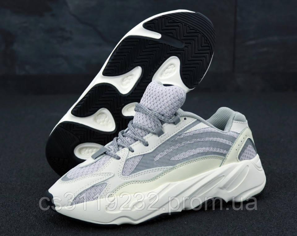 Мужские кроссовки Adidas Yeezy Boost 700 V2 Static (серые)