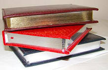 Ежедневник недатированный BRISK OFFICE SARIF А5(14,2х20,3) красно-коричневый с золотым торцом, фото 2