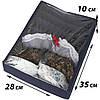 Коробка с крышкой для бюстиков ORGANIZE (джинс), фото 2