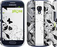 "Чехол на Samsung Galaxy S3 mini Цветочный узор 3 ""1582c-31"""