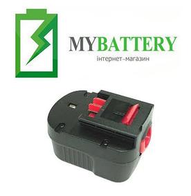 Аккумулятор для шуруповерта Black&Decker A12 1500 mAh 12 V черный