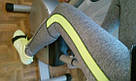 Лосины для фитнеса леггинсы для спорта серые салатовые спортивные №35 — (M), фото 10