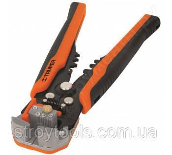 Инструмент, клещи для снятия изоляции зачистки и обрезки проводов Truper PEC-AUT 17360 Киев., фото 2