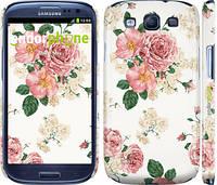 """Чехол на Samsung Galaxy S3 i9300 цветочные обои м1 """"2293c-11"""""""