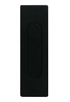 Ручка для раздвижных дверей Fimet 3663AS чёрны матовый (Италия)