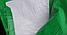 Брезент полипропиленовый усиленный, плотность 120г/кв.м, цвет зелено-белый, размер 2 х 3 (6м2), фото 2