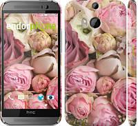 "Чехол на HTC One M8 Розы v2 ""2320c-30"""