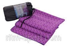 Коврик-полотенце для йоги Yoga mat towel, фото 2