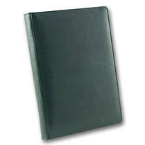 Ежедневник недатированный BRISK OFFICE SARIF А5(14,2х20,3) зеленый с фольгированным торцом, фото 3