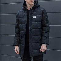 Парка The North Face камуфляжная | Люкс качество  мужская зимняя до -15*С