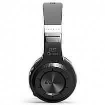 ✖Стерео bluetooth гарнитура Bluedio H+ Black наушники с микрофоном беспроводная USB microSD FM-радио, фото 2