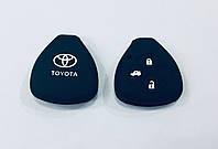 Силиконовый чехол на ключ Toyota 3 кнопки
