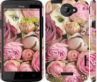 "Чехол на HTC One X Розы v2 ""2320c-42"""